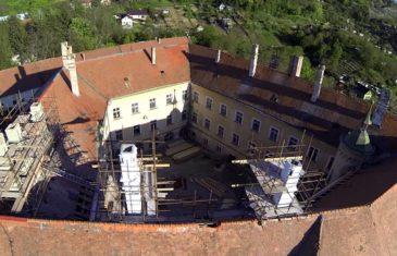 Hlohovec – Obnova komínov (zámok) 2016