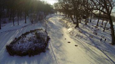 Hlohovec – Snehová záhrada 2015