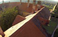 Hlohovec – Strecha zámku 2014