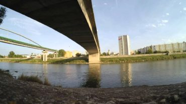 time laps Pod mostom